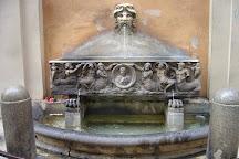 Fontana Torlonia a via Bocca di Leone, Rome, Italy