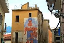 Murales, Diamante, Italy