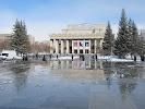 сквер Театральный на фото Новосибирска