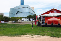 The Forks National Historic Site, Winnipeg, Canada