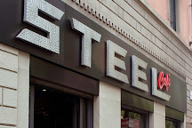 Steel Cafe, Milan, Italy
