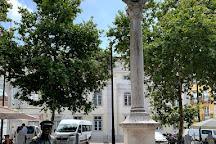 O Cauteleiro Statue, Lisbon, Portugal