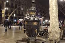 La Fontana de Canaletes, Barcelona, Spain