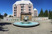 Confederation Fountain, Victoria, Canada