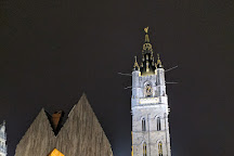 Belfry and Cloth Hall (Belfort en Lakenhalle), Ghent, Belgium