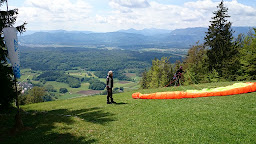 Gozd  Paragliding