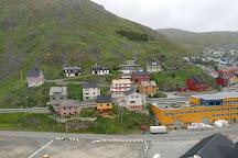 Bamse statue, Honningsvag, Norway