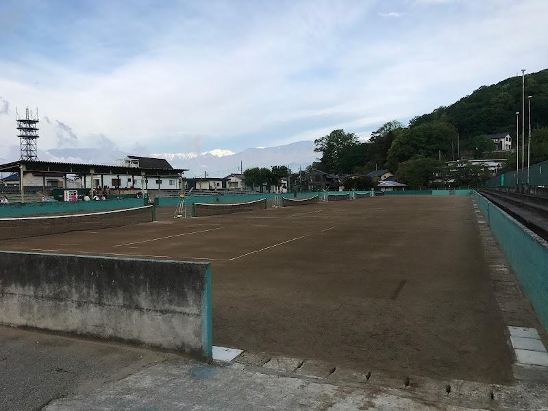 甲府市緑が丘スポーツ公園テニスコート