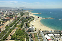 Platja de la Nova Icaria, Barcelona, Spain