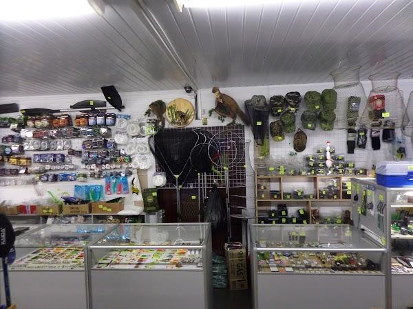 Компас, рыболовный магазин