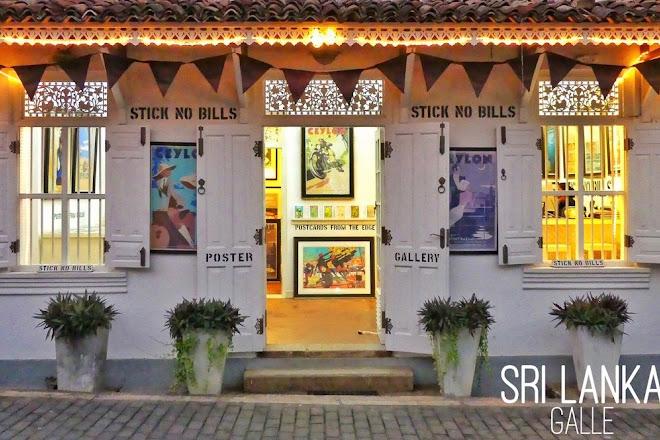 Stick No Bills Poster Gallery, Galle, Sri Lanka