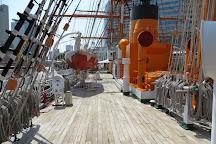 Sail Training Ship Nippon Maru, Minatomirai, Japan