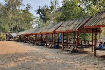 Tham Phu Kham Cave and Blue Lagoon, Vang Vieng, Laos