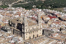 La cruz del castillo de Santa Catalina, Jaen, Spain