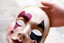 Alberto Sarria Masks, Venice, Italy
