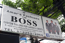 Amar the boss, Bangkok, Thailand