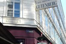 Statue of Johannes Gutenberg, Vienna, Austria