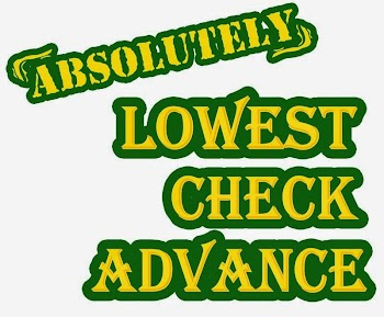 Absolutely Lowest Check Advance Payday Loans Picture