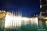 The Dubai Fountain на фото Дубая