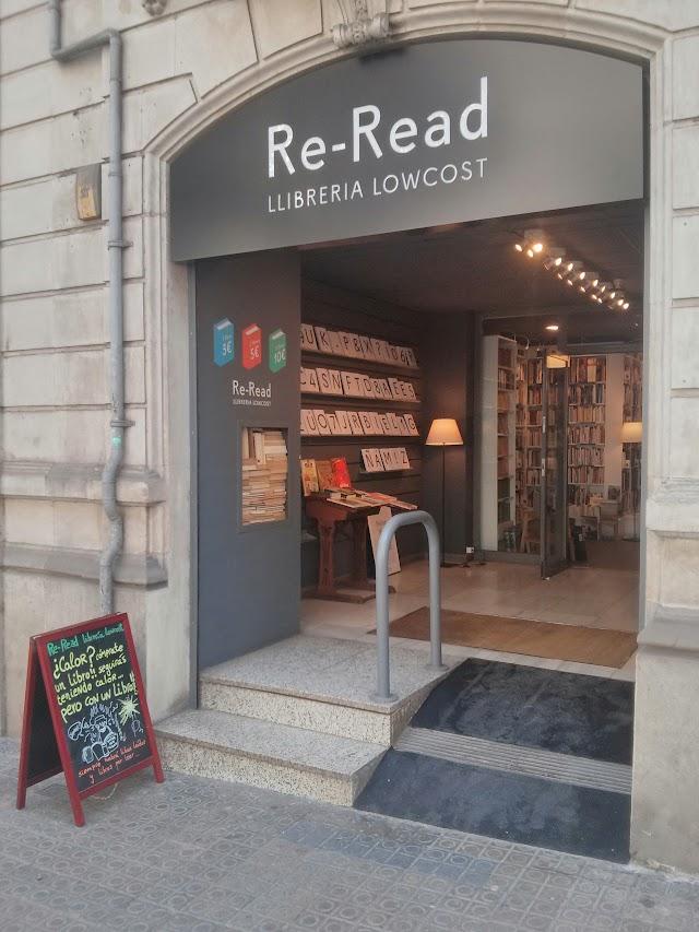 Re-Read Llibreria Lowcost - Muntaner - Barcelona