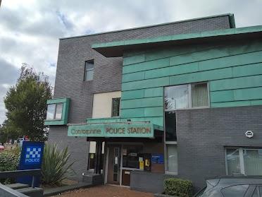 Corstorphine Police Station edinburgh