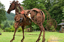 Recycled spirits of iron, Sculpture, Ashford, United States