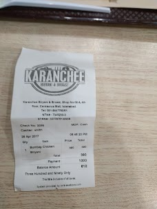 Karanchee Biryani