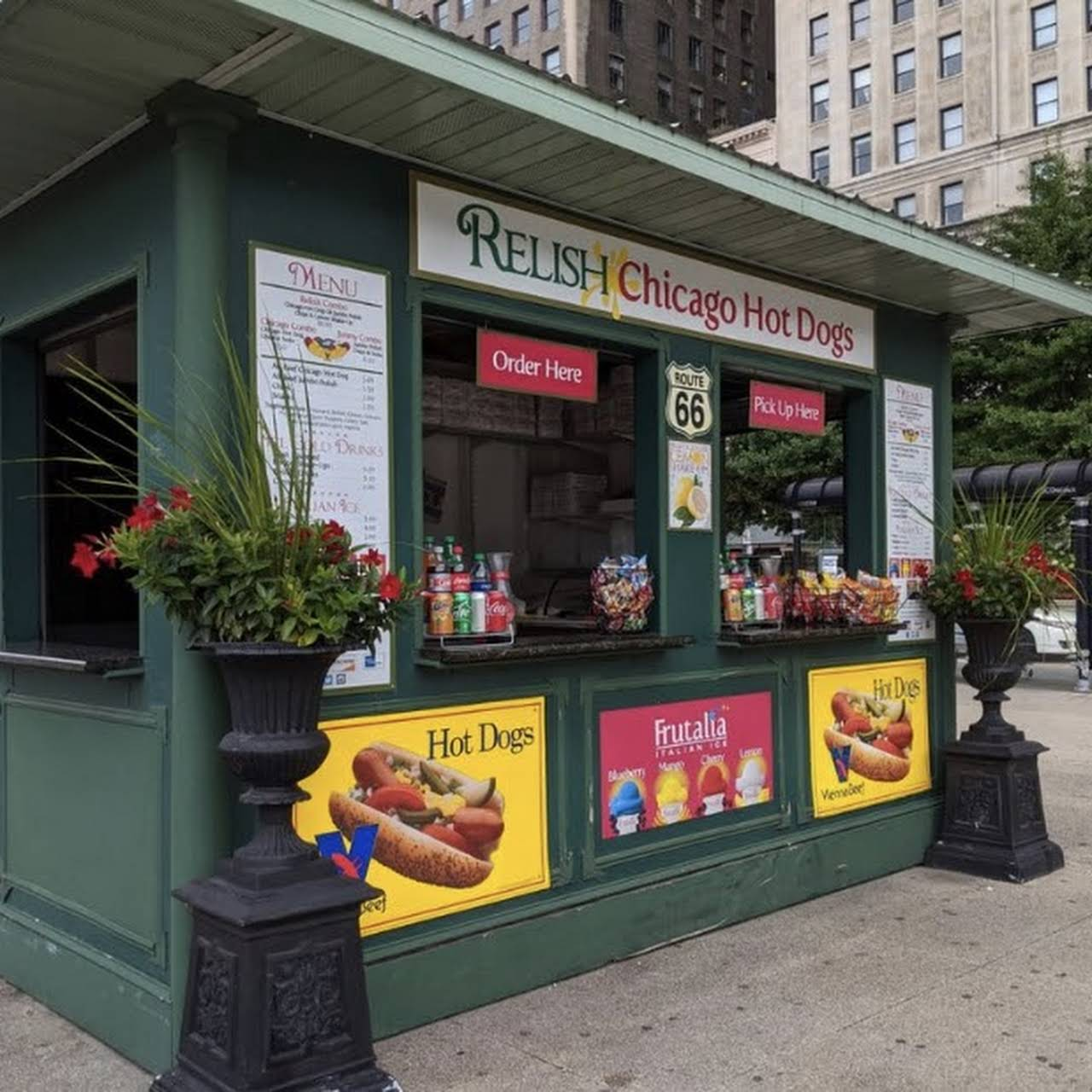 Relish Chicago Hot Dogs - Chicago Hot Dog Stand offering Italian Ice and  Fresh Squeezed Lemonade