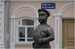 Памятник Городовому на фото Елабуги