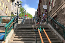 Breakneck Steps (L'Escalier Casse-Cou), Quebec City, Canada