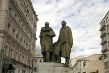 Stanislavski and Nemirovich-Danchenko Monument, Moscow, Russia