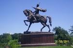 Памятник Амиру Тимуру на фото Ташкента