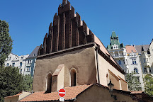 Old-New Synagogue (Staronova synagoga), Prague, Czech Republic