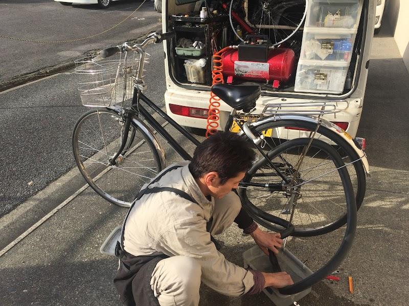 自転車出張修理 名古屋の自転車ドクター