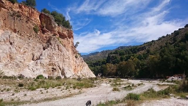 Recorrido por el cauce del Rio Chillar