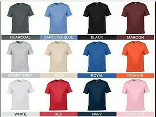 Grosir Kaos Polos Baju Distro Keren Kaos Oblong Gildan Raglan Kerah Desain Baju Kaos Terbaru