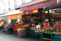 Rue Poncelet Market, Paris, France