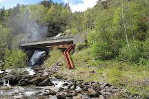 Svandalsfossen Falls, Sauda, Norway