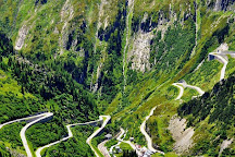 Furka Pass, Canton of Valais, Switzerland