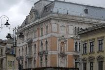 Adam Mickiewicz Monument, Lviv, Ukraine