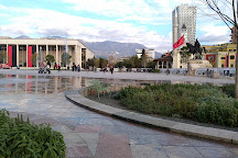 Skanderbeg Statue, Tirana, Albania
