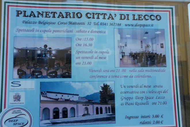 Interit Calendario.Visit Planetario Citta Di Lecco On Your Trip To Lecco Or Italy