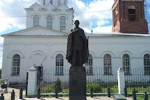 Monument to Alexander Nevsky, Pereslavl-Zalessky, Russia