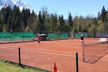 Tennishütte im Tennissportparadies Grainau, Garmisch-Partenkirchen, Germany
