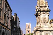 Piazza del Gesu Nuovo, Naples, Italy