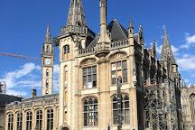 Belfry and Cloth Hall (Belfort en Lakenhalle), Ghent, Belgium