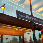 Железнодорожная станция  Augsburg Haunstetterstrasse