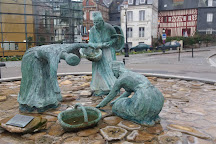 Greniers a sel de Honfleur, Honfleur, France