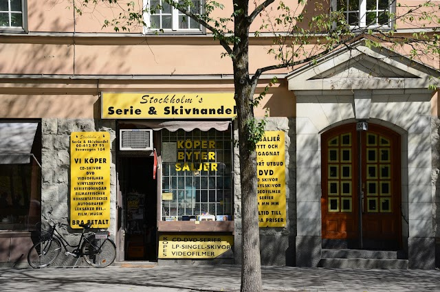 Stockholms Serie & Skivhandel