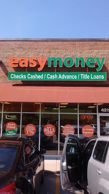 Easy Money Payday Loans Picture